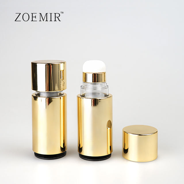 new products 30ml new air cushion type liquid foundation bottle packaging with airless screwing rotary tube