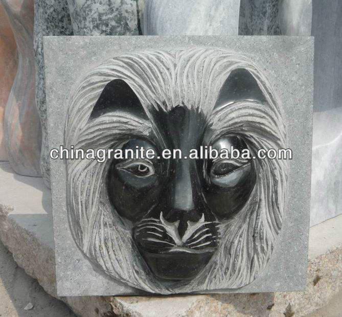 <span class=keywords><strong>Cabeza</strong></span> de león de piedra escultura