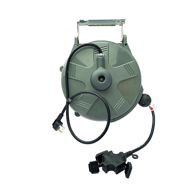 12 m wall-mounted cheap hose reel with automatic rewind function