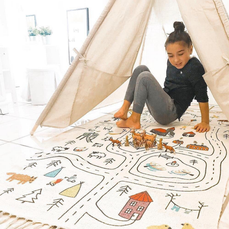 DIY Coloring Design Kinderkamer Game Play Mat