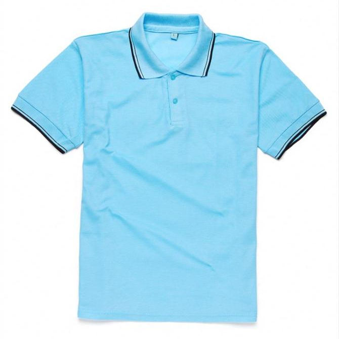 Newest selling comfortable design novelty men no pattern polo shirt