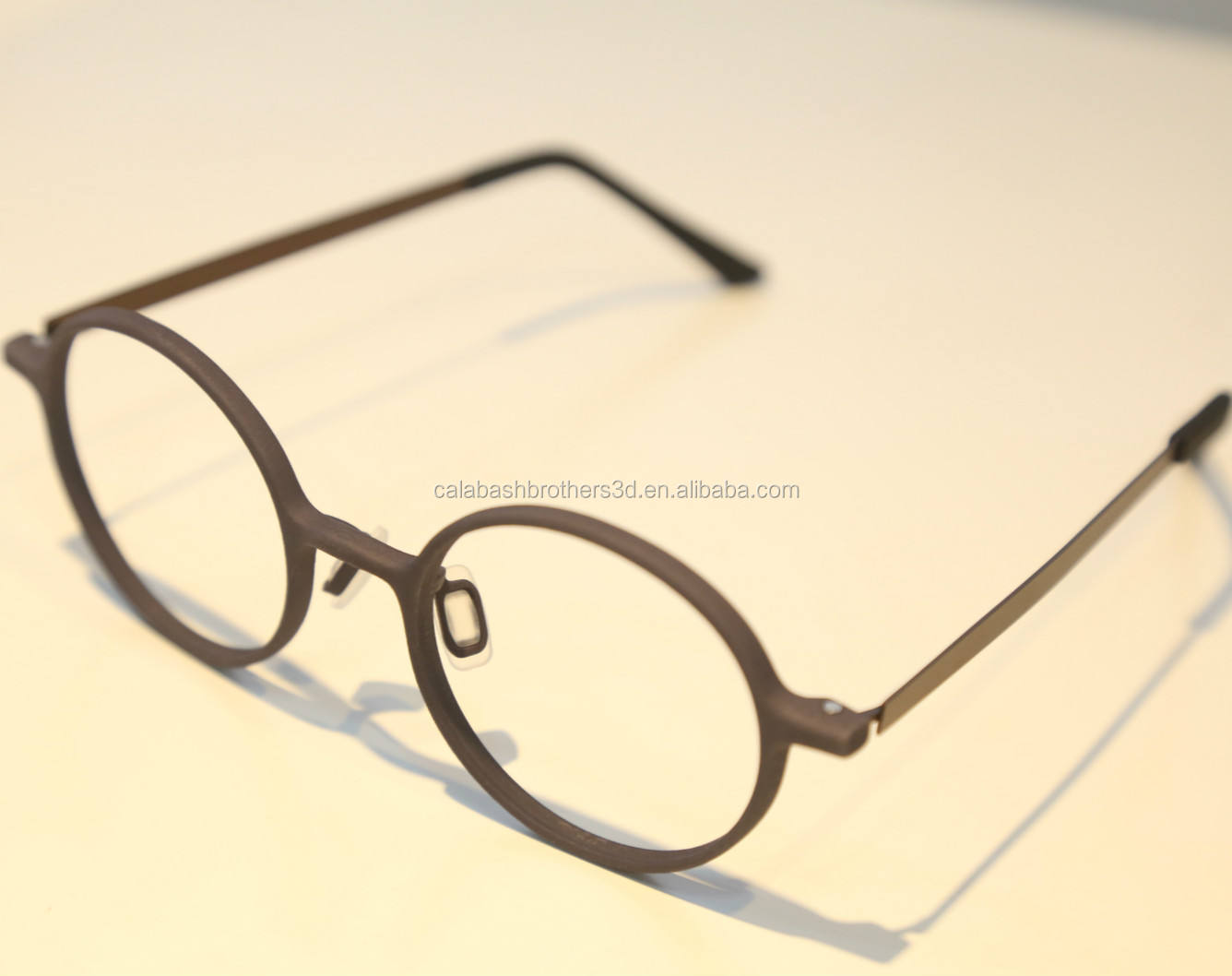 Custom Logo Eye Glasses optical Glasses frame PA11 PA12 MJF 3D Printing cross eyewear in China