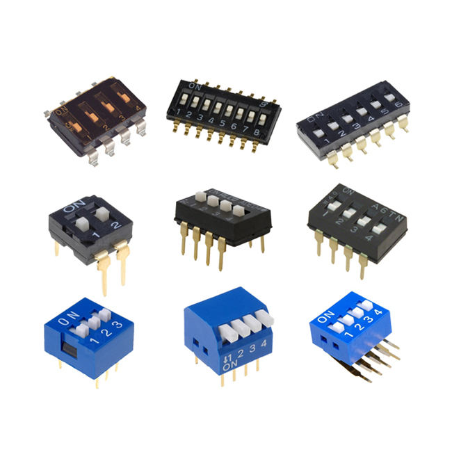 (High) 저 (quality 25 KLS brand 1 position 1.27mm 6 핀 dip switch