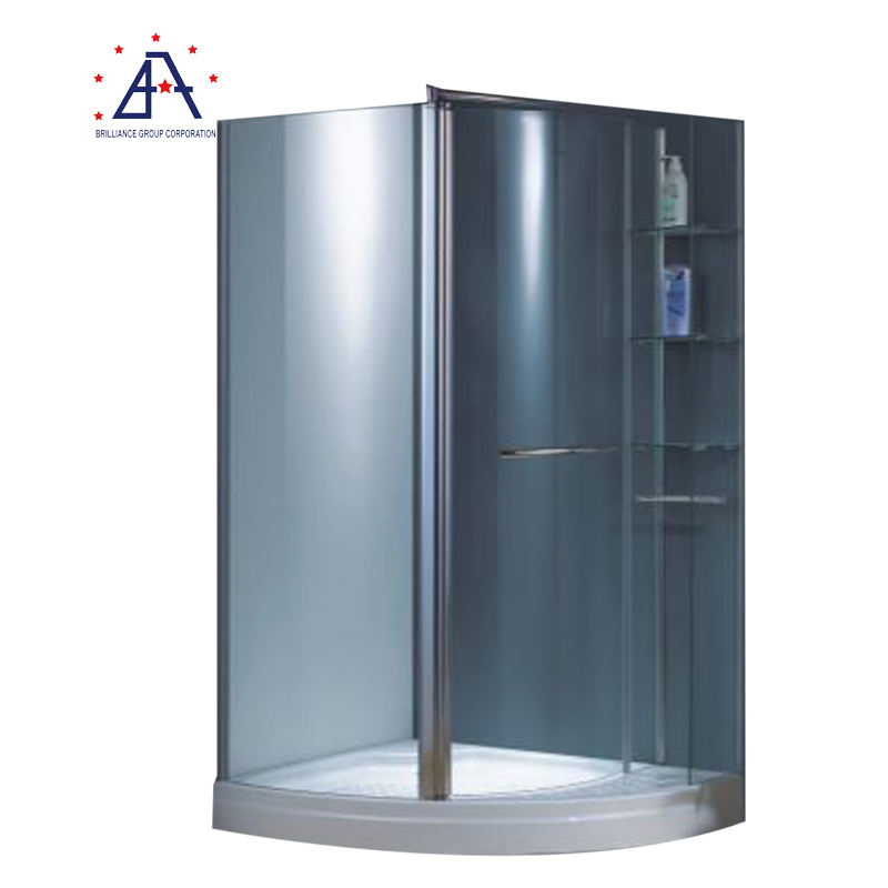 Glass Partitions for Aluminum Shower Room