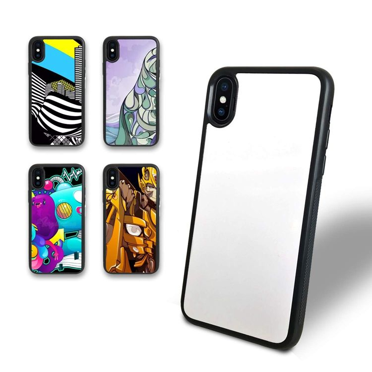 Tpu Pc 2D Blank Sublimatie Printproces Mobiele Mobiele Telefoon Case Back Cover Voor Iphone X Xs Max Xr