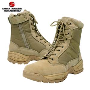 MD sole desert boots suede leather tactical boots khaki army boots