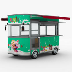 mobile food truck electric for sale in Dubai and Thailand
