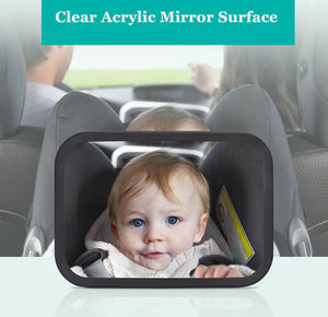 Safety Products for Baby Rear View Mirror Adjustable Baby Car Mirror