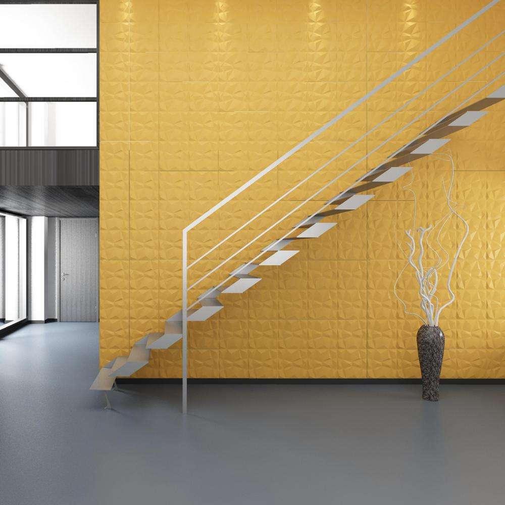 用天井石膏3d効果壁パネル太陽プルーフ高品質強い金型