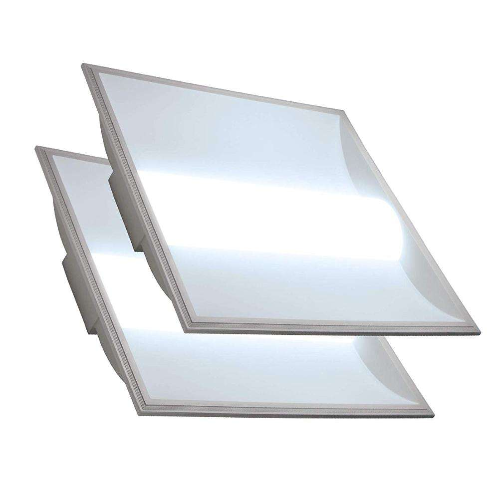 CE ROSH Architectural LED Troffer 2x2 FT LED Volumetric Troffer Drop Ceiling Panel Light