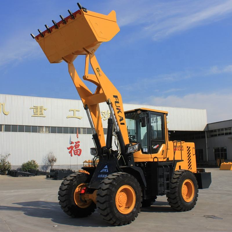 Roda Loader ZL-936 2 Ton Mini Front End Wheel Loader Harga Murah