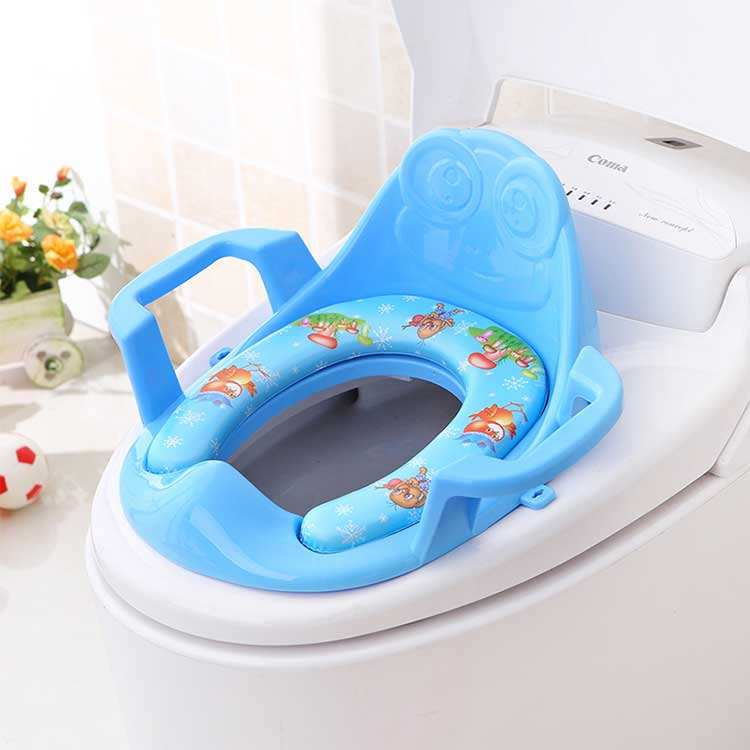 High quality soft and comfortable boys girls kids child toilet seat baby potty toilet