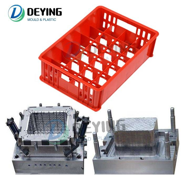 new innovative products plastic injection cup crate box mould with top quality