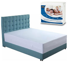 washable bed bug dust mite waterproof mattress encasement protector