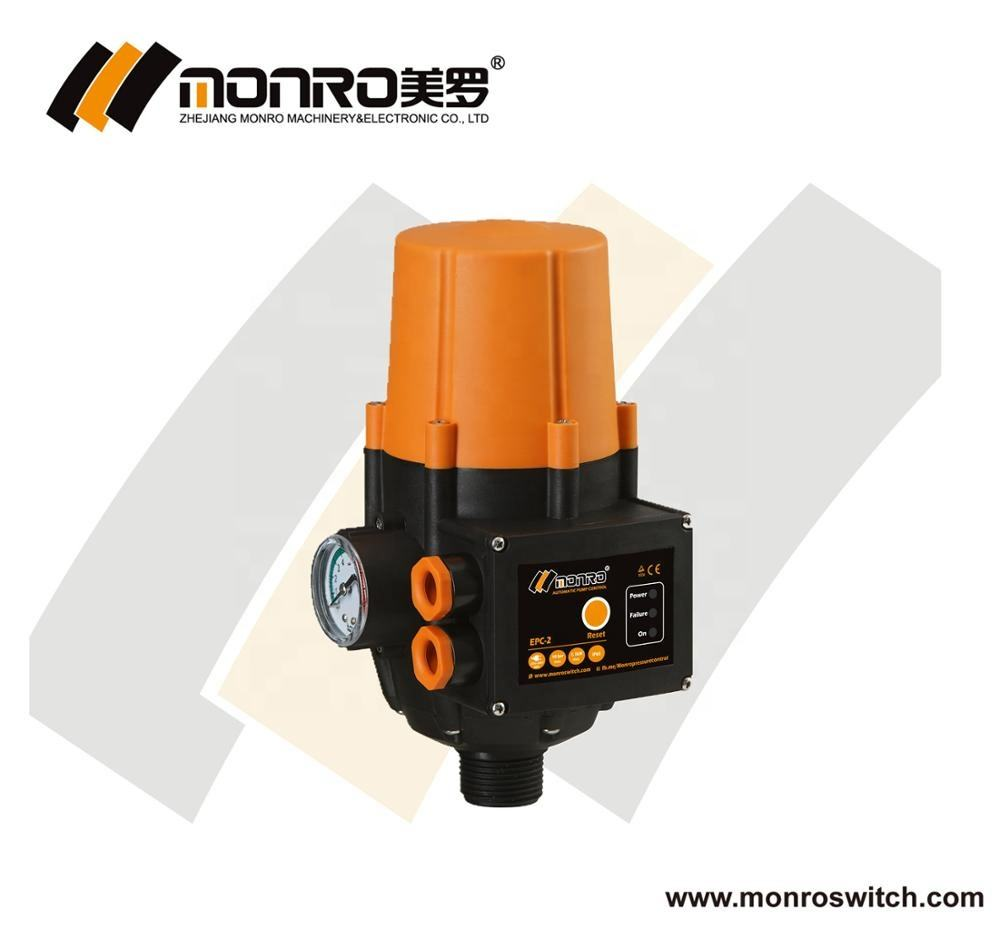 Wholesale monro automatic water pump control reset electronic pressure pump switch pressure with adjust EPC-2