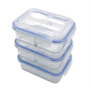 Microwave Oven High Borosilicate Glass Food Storage Container/Lunch Box-rectangular glasslock containers/Glass food container