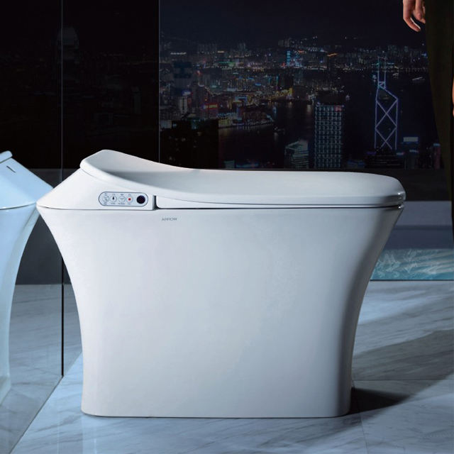 ARROW brand New Arrival closet pan sanitary ware bathroom smart wc automatic toilet with smart self hot toilet seat