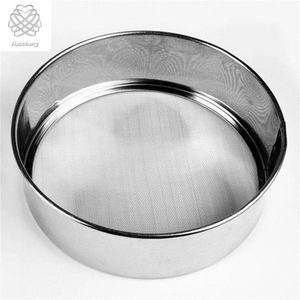 10 Mesh Laboratorium Standar Stainless Steel 304 Test Sieve