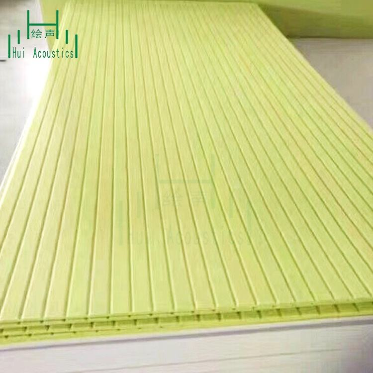 Textured Wall Polyester Fiber Acoustic Panel Laminates for Wall Panelling Noise Control Polyester Fibre Acoustic Panel