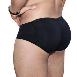 Sexy Padded Mens Underwear Large Size Butt Enhancer