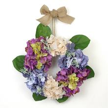 Cheap price landscaping flower artificial christmas wreaths for decor
