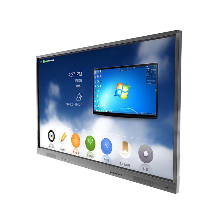 Touch screen tv