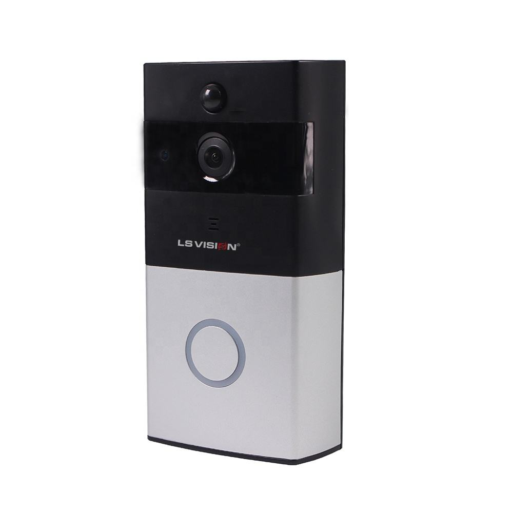 LS VISION HD 720 P 두 길 Real Time 인터콤 PIR Motion Detection 및 인터콤 WIFI 현관의 벨 (Support Mobile 경보 및) 저 (Low) 힘