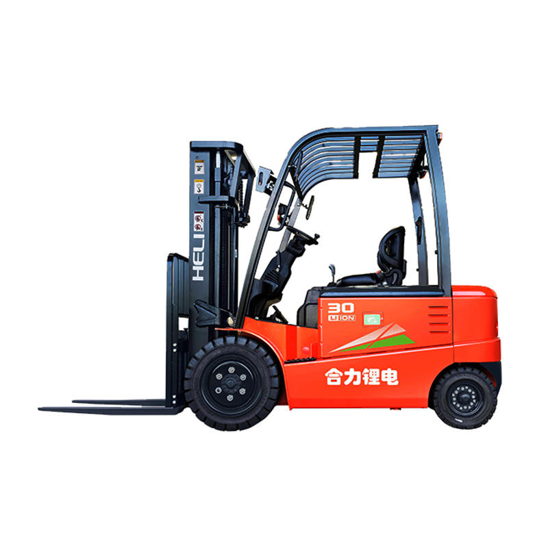 well-used 1-3ton electric forklift/battery forklift