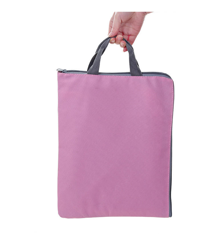 Polyester document bestandsmap tas A4 size office tassen laptop tas
