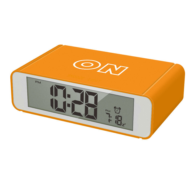 Cheap Price Multifunction Electronic Simple Desk LCD Desk Filp Alarm Clock wiht Snooze Function