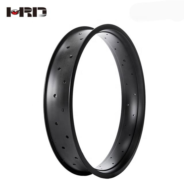 Hot Sale P75 High Quality Light-weight Aluminum Alloy Customized Color Butt-weld Connection Snow Bike 20 Inch Fat Rim