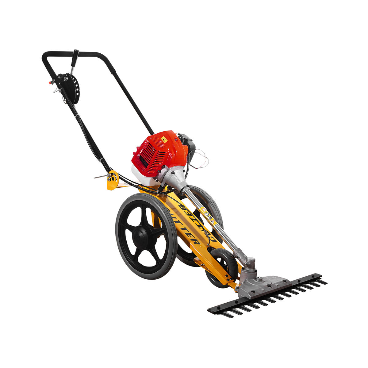 52cc Hand Push Gasoline Scythe Mower With Engine