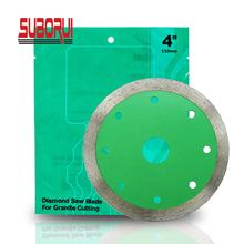 Cold Press Sintered Continuous Rim Diamond Saw Blade for Cutting Stone Granite Marble Concrete Brick