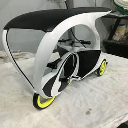 Tricycle  CNC hardware processing plastic car model processing rapid prototyping
