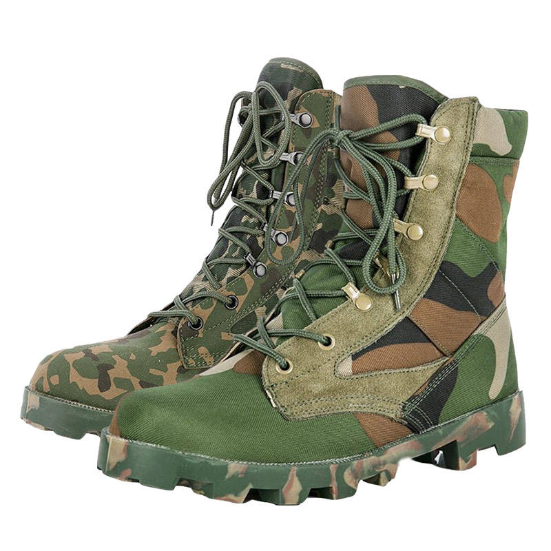 Jungle Shoes, Green tactical Army Jungle Boots, Camouflage Military Boots