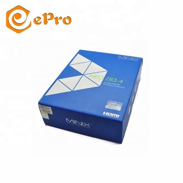 Epro 2019 de calidad de la industria Intel ganar 10 OS <span class=keywords><strong>TV</strong></span> caja minix NEO Z83-4 pro 4g/32G DDR3 mini pc