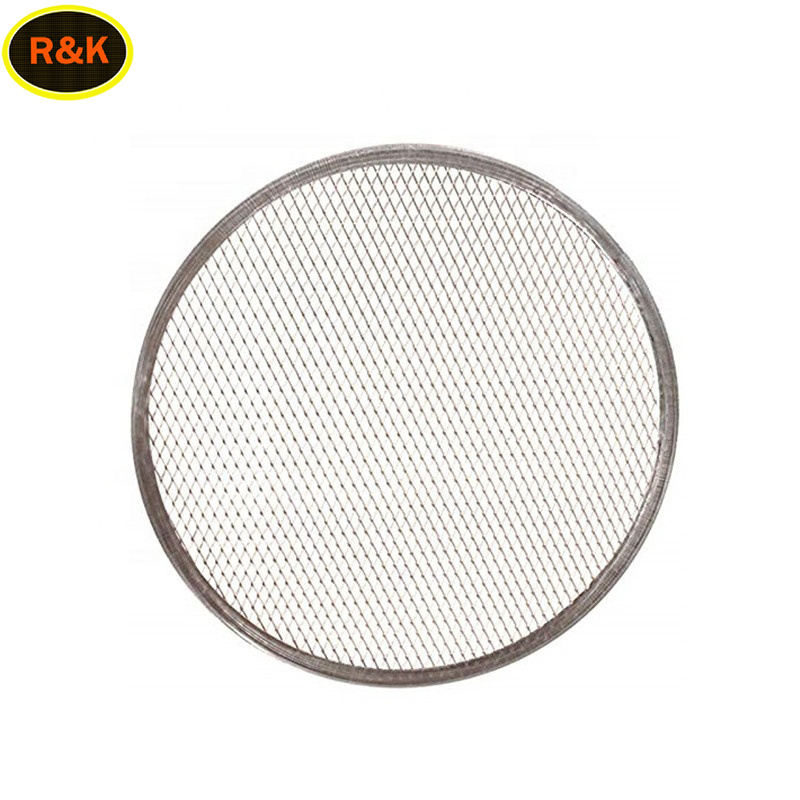 8 9 10 12 14 16 inch Aluminum Pizza Screen Round Square Shape For Baking