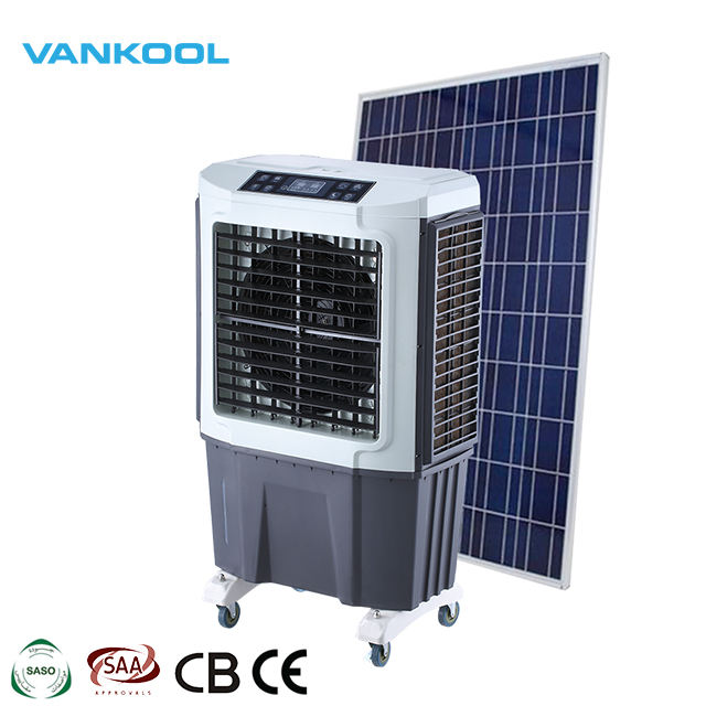 Industrial cooler equipment roof mounted ac/dc solar air conditioner