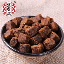 Hongxiangji Soft Pork Rougan Chinese Spicy Snack Pork Product Meat Snacks 108g Dried Pork