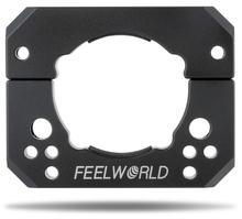 FEEWORLD Ronin-S Crane 2 Gimbal Stabilizer Mounting Adapter Ring Clamp Mounting Plate