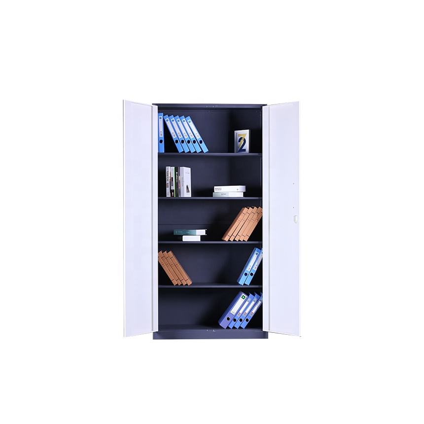 furniture equipment 2 door document storage cabinet 5 layer steel file cabinet
