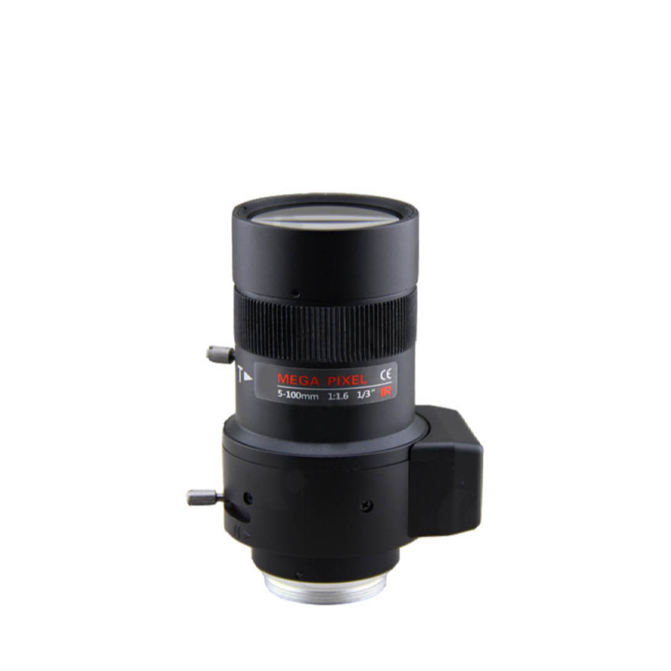China supplier 5-100mm zoom lens