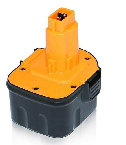 Rechargeable Replacement 12V Ni-Cd Battery for Dewalt 12V Cordless Drill DE9074 DC9071 DE9037 DE9071 DW9072 Batteries