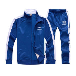 Custom training jogging wear Set Mens Sports Sweat Track Suit Tracksuit Sweatsuit with own design and logo