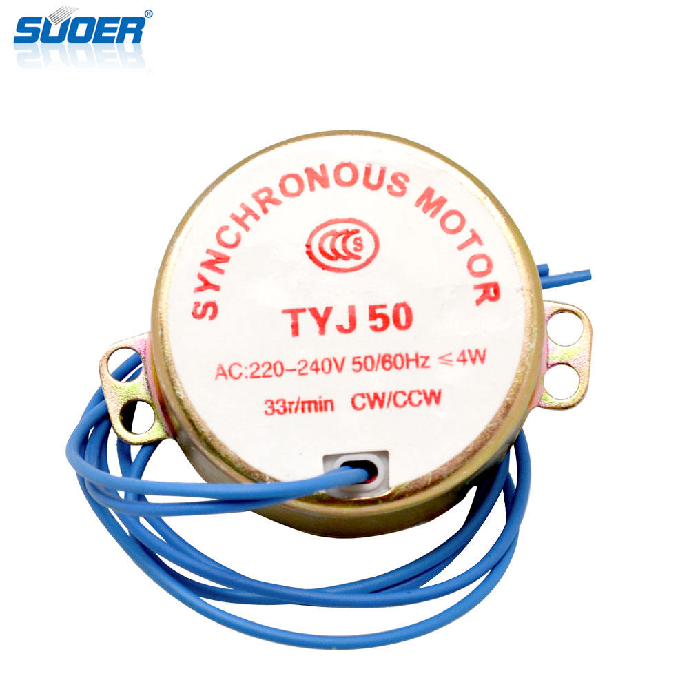 Suoer Synchronous Motor for Electric Fan with High Quality&Good Price