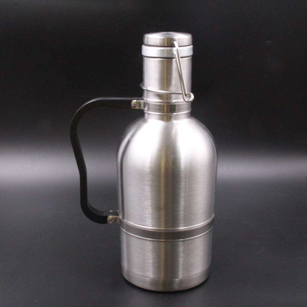 64 oz stainless steel 304 keeping the beer cool refreshing beer growler