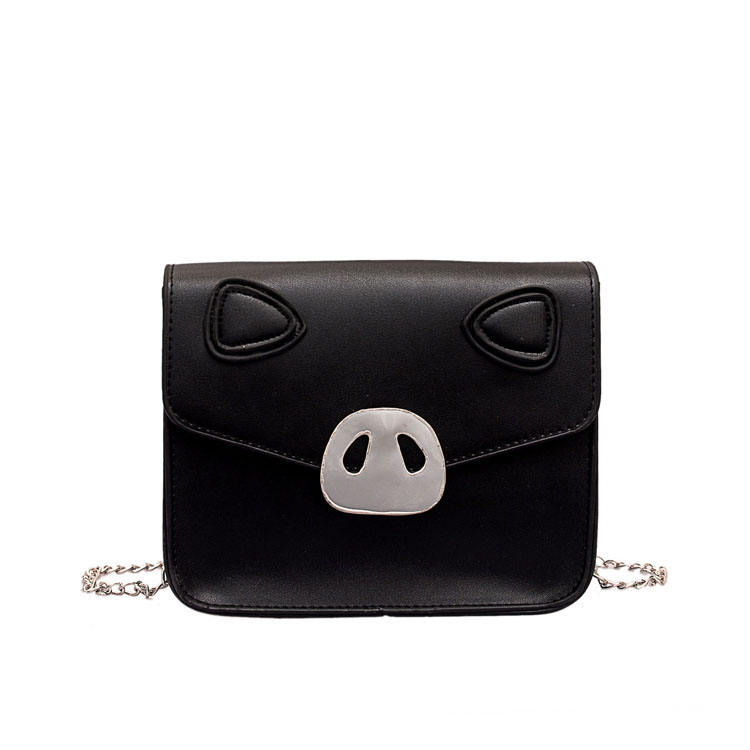 Pig Bag Female 2019 New Fashion Slung Shoulder Bag Girl Chain Small Square Bag Tide Batch