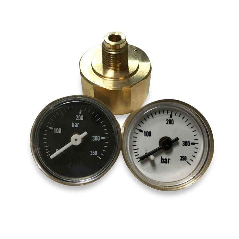 High Pressure U Tube Mini Pressure Gauge Manometer 350 bar