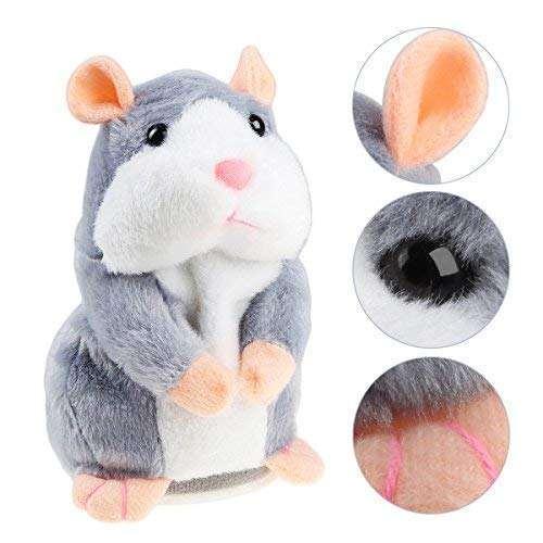 Adorable Toy Mimicry Pet Speak Talking Record Hamster Mouse Plush Kids Hot GW