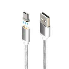 2019 new design 2.4A micro usb magnetic charging cable